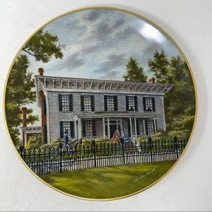 Gorham White House Of The Confederacy Plate